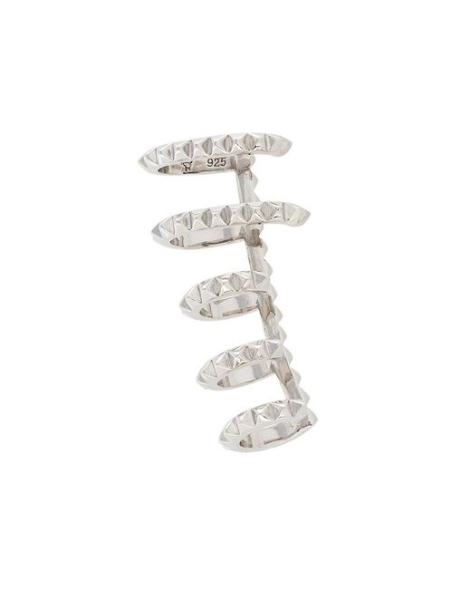 Kasun   Metallic Cage Cuff Earring   Lyst