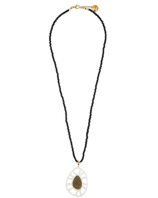 Camila Klein - Metallic Resin Long Necklace - Lyst