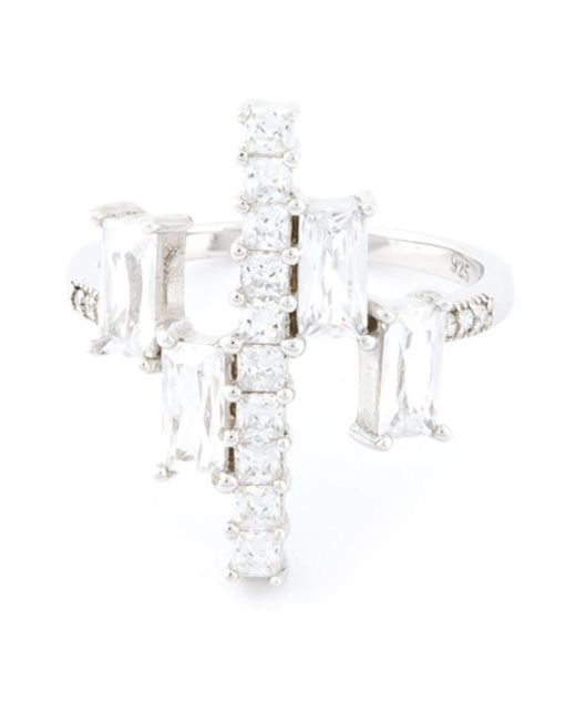 V Jewellery - Metallic 'Simplicity' Multiform Ring - Lyst