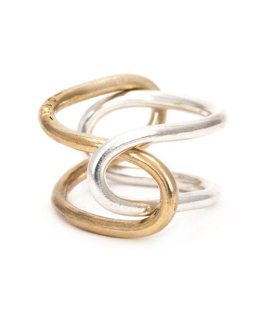 1-100 - Metallic '79' Ring - Lyst