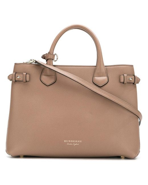 Burberry | Brown 'house Check' Tote Bag | Lyst
