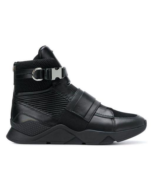 eccd486e6d Balmain - Black Cameron 00 Sneakers for Men - Lyst ...