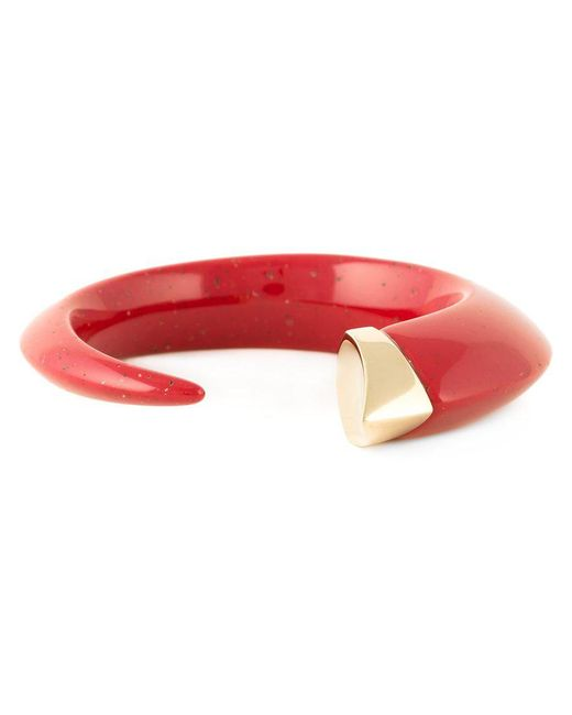 Shaun Leane - Red 'tusk' Bangle - Lyst