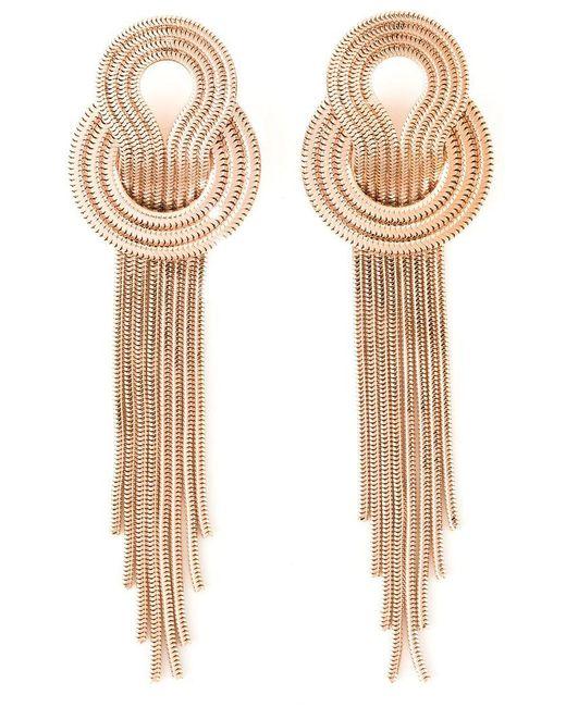 Lara Bohinc   Metallic 'saturn' Earrings   Lyst