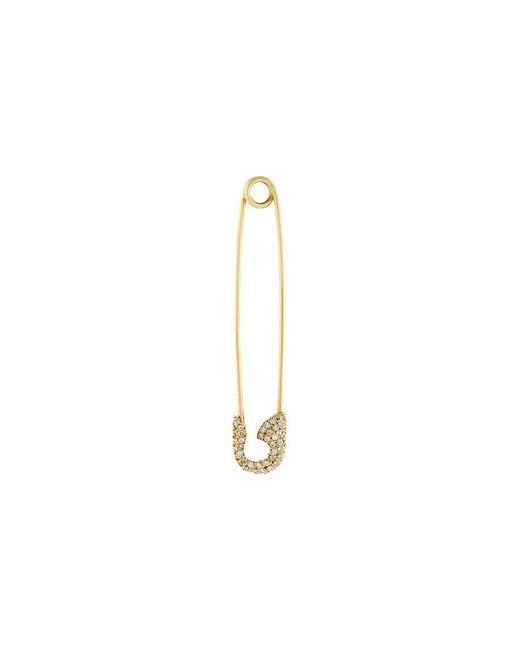 Ileana Makri | Metallic Safety Pin Earring | Lyst
