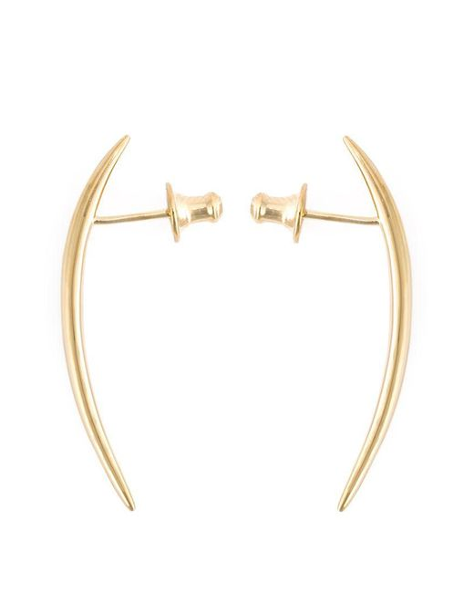 Shaun Leane | Metallic Short 'quill' Earrings | Lyst