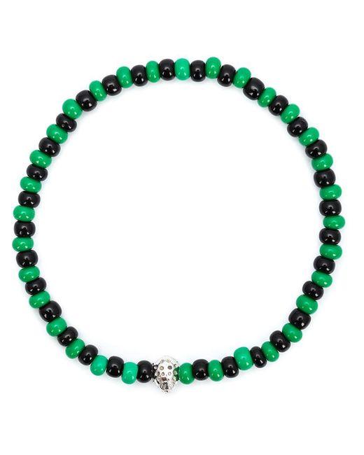 Luis Morais | Green Mini Lady Bug Beaded Bracelet | Lyst
