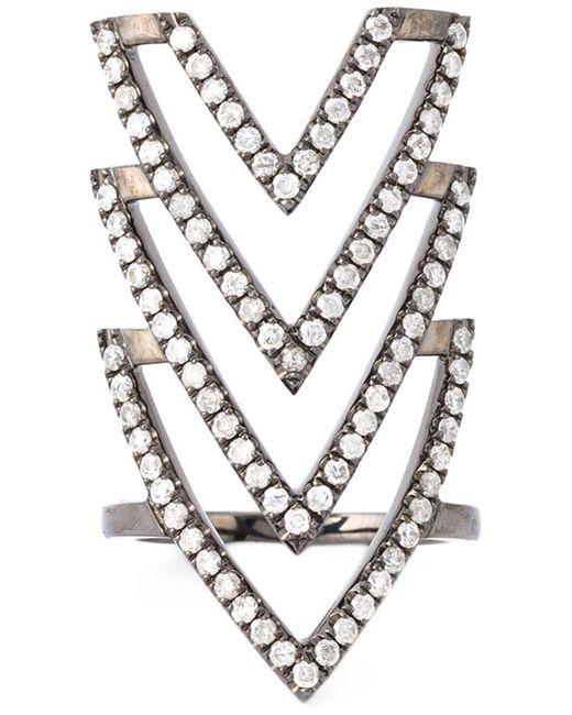 Elise Dray | Metallic 'inca' Phalange Ring | Lyst