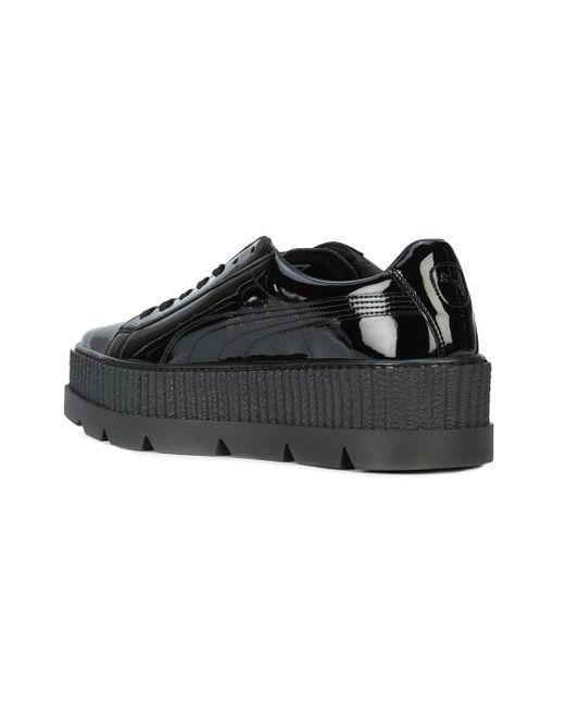567146a6f15 Lyst - Puma x fenty by rhianna Pointy Creeper Sneakers in Black