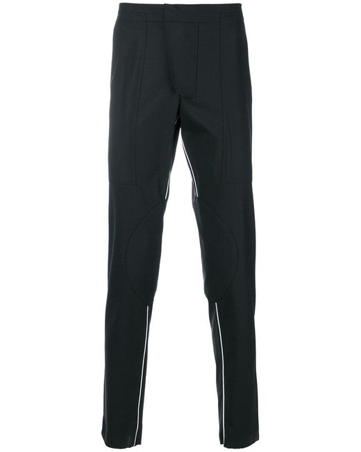 Les Hommes - Black Casual Trousers for Men - Lyst