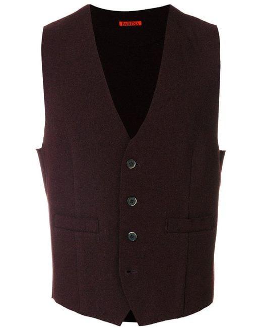 Barena | Red Classic Waistcoat for Men | Lyst