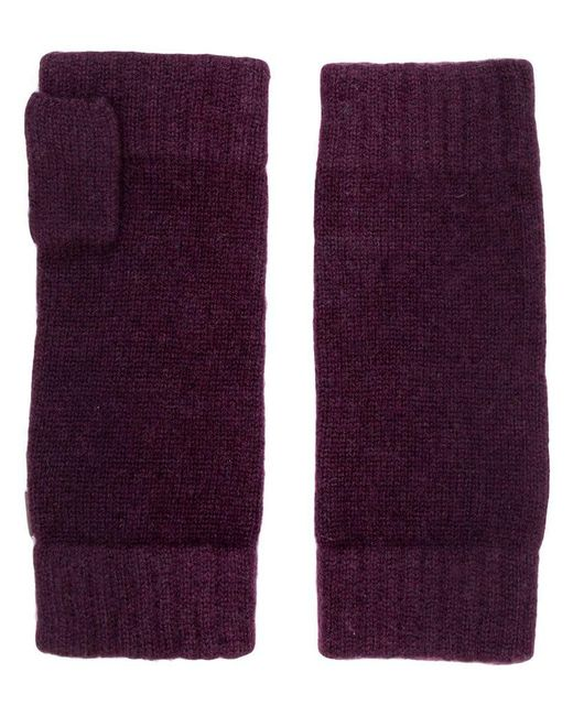 N.Peal Cashmere - Purple Handschuhe aus Kaschmir for Men - Lyst