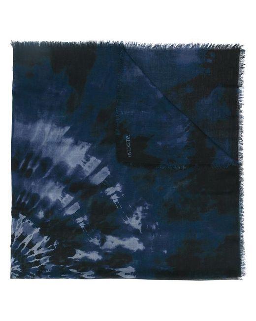 Valentino   Blue Garavani 'tie&dye' Scarf for Men   Lyst
