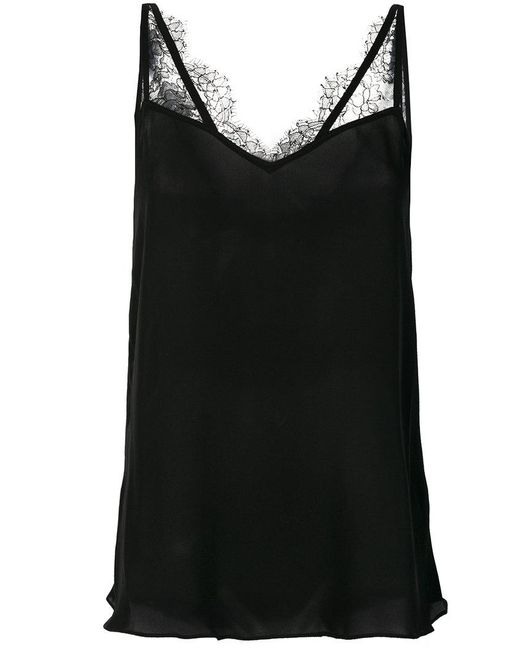 Dorothee Schumacher | Black Lace Strap Top | Lyst