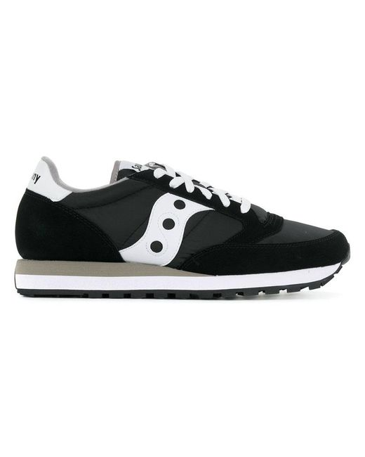 Saucony - Black Lace-up Sneakers for Men - Lyst