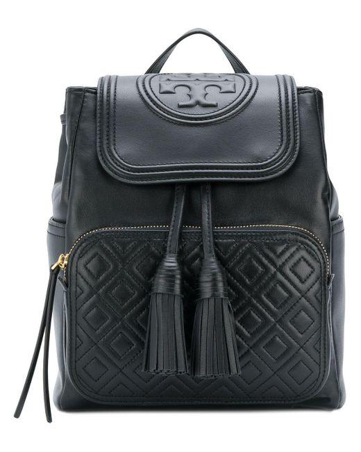 Tory Burch - Black Fleming Backpack - Lyst