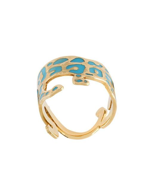 Marc Alary | Yellow Panther Ring | Lyst