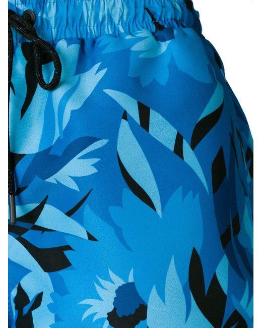 2062b924f ... BOSS - Blue Barreleye Swim Shorts for Men - Lyst