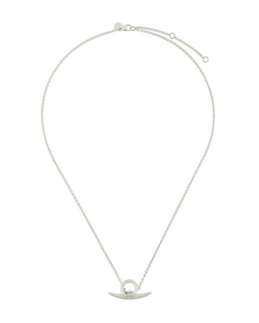 Shaun Leane - Gray Arc toggle Bar Necklace for Men - Lyst