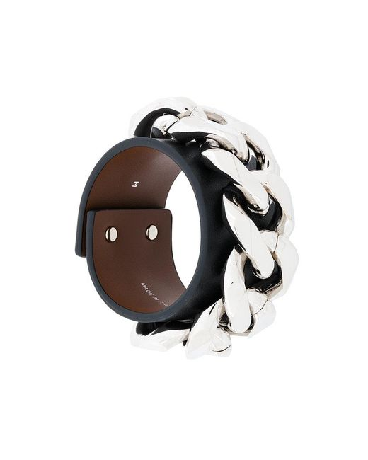 Givenchy | Black Chain Bracelet | Lyst