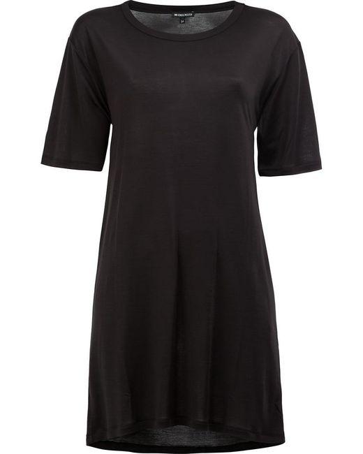Ann Demeulemeester - Black Open Back Oversized T-shirt - Lyst