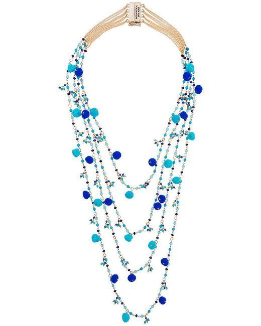Rosantica | Blue Alchimia Beaded Necklace | Lyst