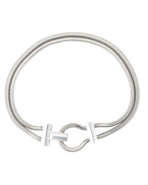 Lara Bohinc | Metallic 'schumacher' Toggle Necklace | Lyst