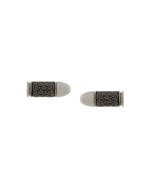 Akillis | Metallic Embellished Bullet Earrings | Lyst