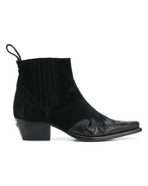 Zadig & Voltaire - Black Erin Cut Boots - Lyst