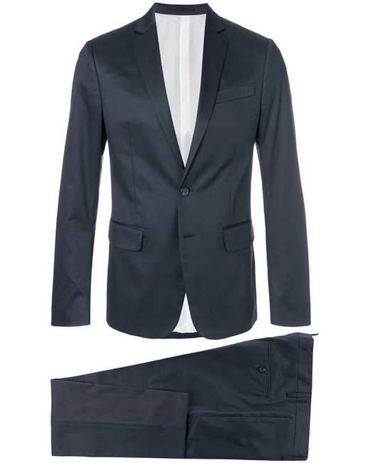 DSquared² - Blue Slim Fit Suit for Men - Lyst