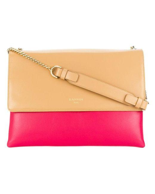 Lanvin - Pink Sugar Shoulder Bag - Lyst