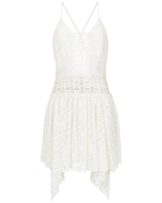 Martha Medeiros - White Melissa Lace Dress - Lyst