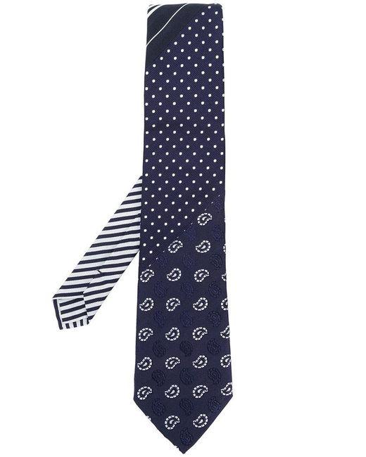 Etro | Blue Multi-pattern Tie for Men | Lyst
