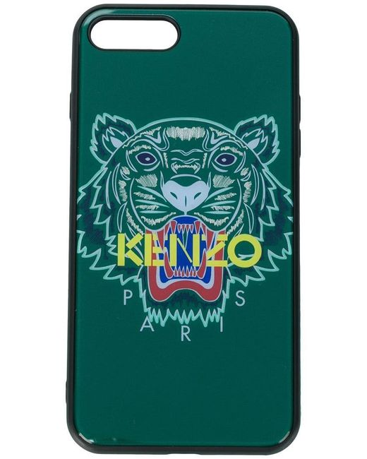 KENZO - Green Logo Iphone 8 Plus Case - Lyst