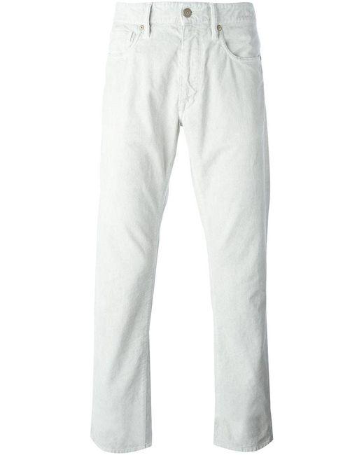 Incotex | Gray Slim-fit Jeans for Men | Lyst