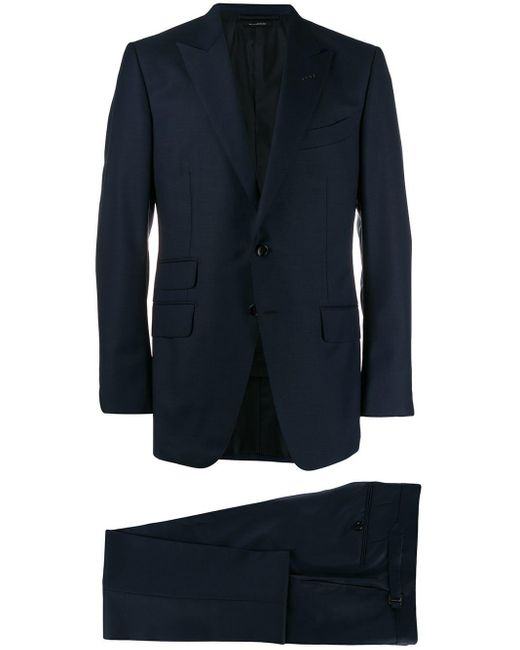 Tom Ford Blue Classic Two-piece Suit for men