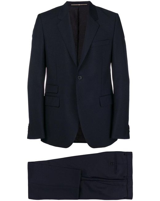 Givenchy - Blue Tailored Two-piece Suit for Men - Lyst