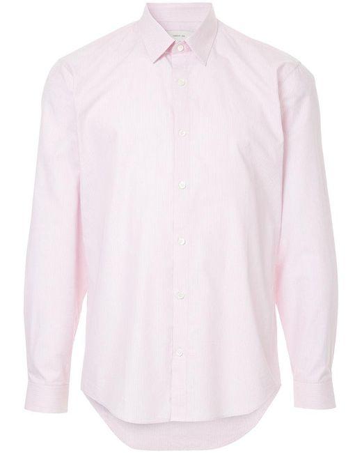 Cerruti 1881 - Pink Striped Shirt for Men - Lyst