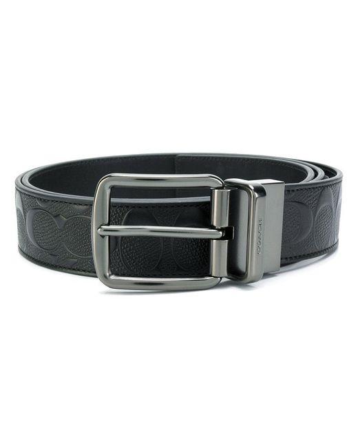 COACH | Black Classic Belt for Men | Lyst