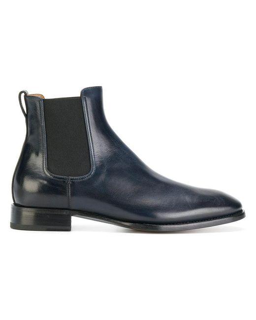 Silvano Sassetti | Blue Chelsea Boots for Men | Lyst