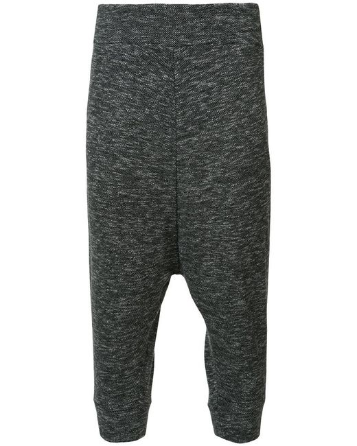 Private Stock - Black Drop Crotch Trousers for Men - Lyst