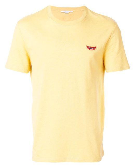 Stella McCartney Smile logo T-shirt - White Sale Perfect Buy Cheap Get To Buy Outlet How Much Discount Browse Gj61fLRW