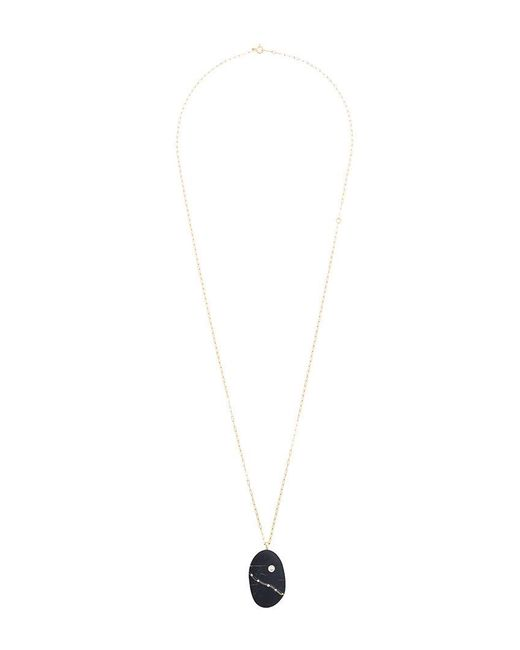 Cvc Stones | Metallic Ischia Diamond Pebble Necklace | Lyst