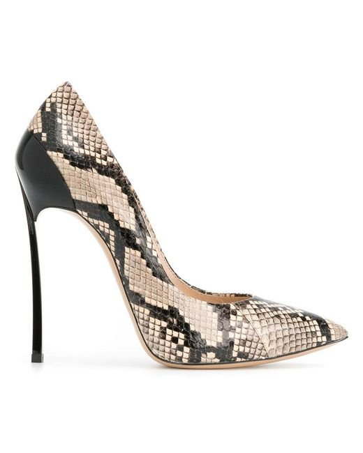 Casadei Blade snakeskin pumps Cheap Sale Fashionable Cheap Sale Latest 2018 Online Choice With Paypal Cheap Price DQ9zJcPja