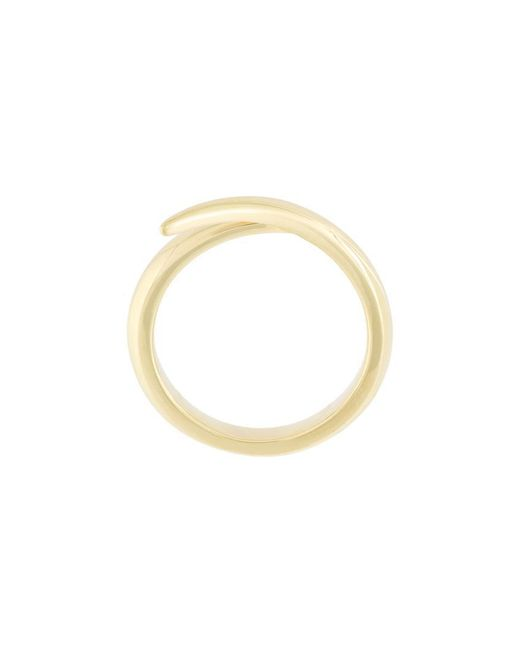 Shaun Leane - Metallic 18kt Yellow Gold 'interlocking' Ring - Lyst