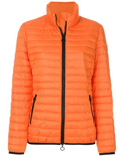 Emilio Pucci | Orange Short Padded Coat | Lyst