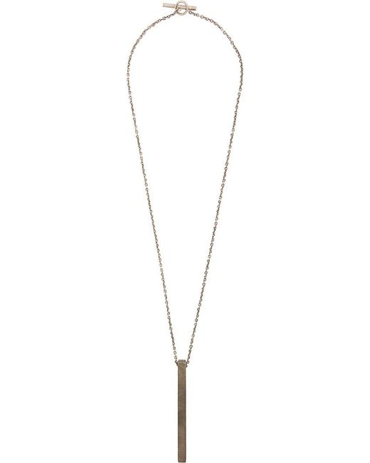 Parts Of 4 - Metallic Cuboid Necklace - Lyst