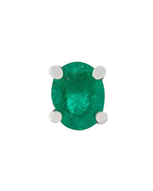 Wouters & Hendrix - Green Emerald Earring - Lyst