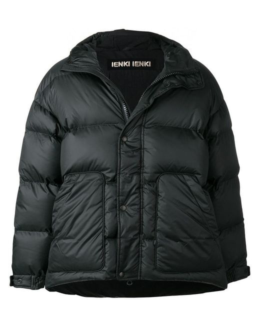 Ienki Ienki - Black Oversized Goose Down Jacket for Men - Lyst ... 9ca41bdf5c2f