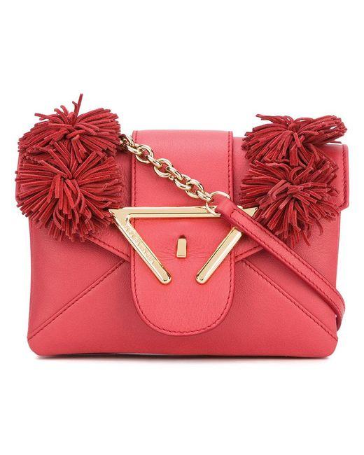 Sara Battaglia - Red Roxy Crossbody Bag - Lyst